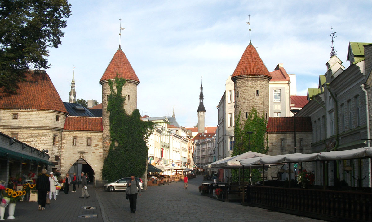 Три столицы Прибалтики экскурсионный тур Таллин  Рига