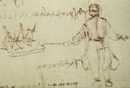 Водолазный костюм Леонардо.